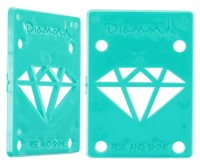 Diamond Supply Co Rise & Shine Riser Pads - diamond blue