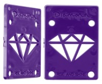Diamond Supply Co Rise & Shine Riser Pads - purple