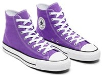 Converse Chuck Taylor All Star Pro High Purple Skate Shoes - electric purple