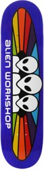 Alien Workshop Spectrum 7.875 Skateboard Deck - blue / white text