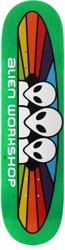 Alien Workshop Spectrum 7.875 Skateboard Deck - green / white text