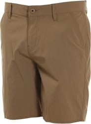 Brixton Toil II All-Terrain Hybrid Shorts - dark khaki
