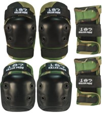 187 Killer Pads Six Pack Junior Pad Set - camo