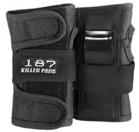 187 Killer Pads Junior Wrist Guards - black