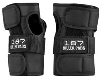 187 Killer Pads The Wrist Guards - black