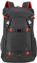 Nixon Landlock SE II Backpack - black/red