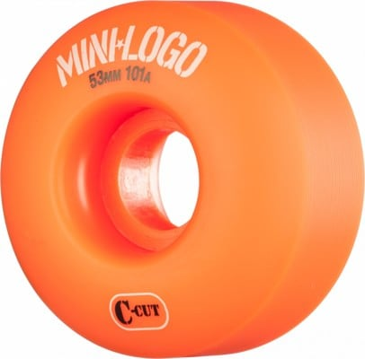 Mini Logo C-Cut Skateboard Wheels - orange (101a) - view large