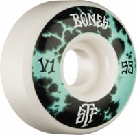 Bones STF V1 Skateboard Wheels - deep dye mint (103a)
