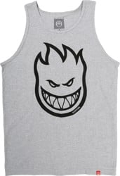Spitfire Bighead Tank - athletic heather/black