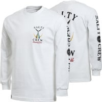 Salty Crew Tailed L/S T-Shirt - white