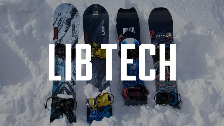 b491f0604b7 Lib Tech Snowboards 2019