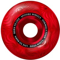 Spitfire Formula Four Classic Skateboard Wheels - red swirl (99a)