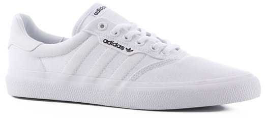 Adidas 3MC Skate Shoes - white/white/gold metallic - view large