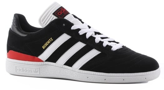 Adidas Busenitz Pro Skate Shoes - black/white/scarlet - view large