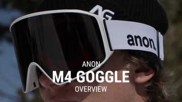 Anon M4 Snowboard Goggles Overview