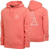 HUF Essentials Triple Triangle Hoodie - coral haze