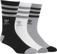 Adidas Roller 3-Pack Sock - light onix/black/white