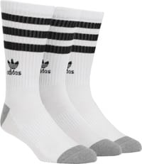 c7765f7cb9e Adidas Roller 3-Pack Sock - white black heather grey