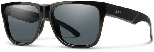 Smith Lowdown 2 Polarized Sunglasses - black/polarized gray lens - view large
