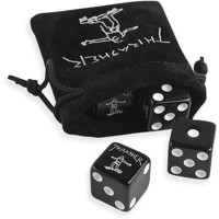 Thrasher Thrasher Dice Set - black