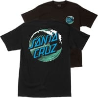 Santa Cruz Kids Wave Dot T-Shirt - black