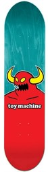 Toy Machine Monster 8.125 Skateboard Deck - turquoise