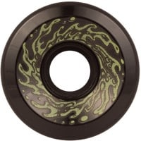 Santa Cruz Slime Balls Skateboard Wheels - black glow (78a)