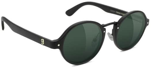 Glassy Prod Premium Polarized Sunglasses - matte black/green polarized - view large