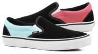 Vans Slip-On Pro Shoes - (asymmetry) black/blue/rose