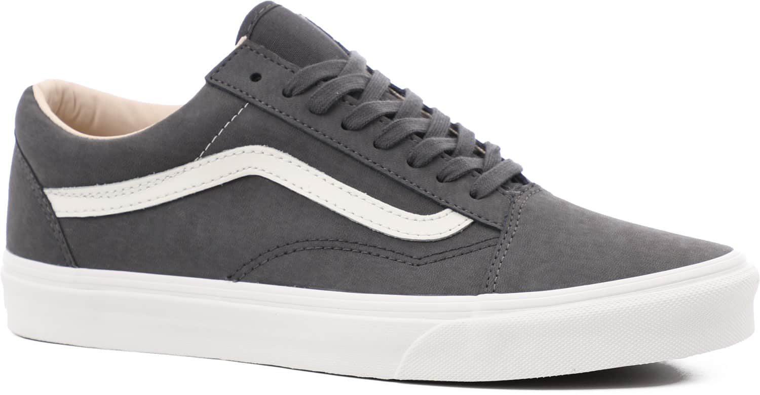 vans old skool skate shoes vansbuck asphalt blanc de blanc free shipping. Black Bedroom Furniture Sets. Home Design Ideas
