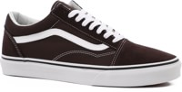 Vans Old Skool Skate Shoes - chocolate torte/true white