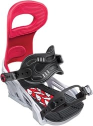 Bent Metal Forest Bailey Transfer Snowboard Bindings 2019 - red