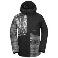 Volcom 17 Forty Insulated Jacket 2019 - black white