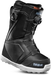 Thirtytwo Women's Lashed Double Boa Snowboard Boots 2019 - black/blue/white