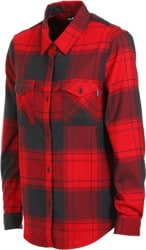 DAKINE Noella Tech Flannel - chili pepper
