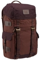 Burton Annex Backpack - cocoa brown waxed canvas