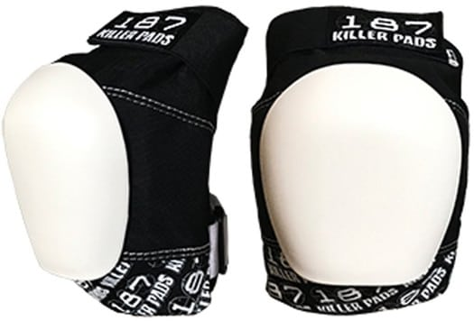 187 Killer Pads Pro Knee Pads - black/white - view large