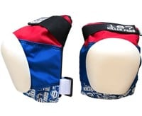 187 Killer Pads Pro Knee Pads - red/white/blue