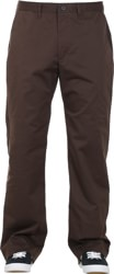 Nike SB FTM Chino Loose Pants - velvet brown