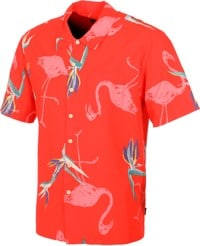 Brixton Lovitz S/S Shirt - red pepper