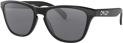 Oakley Frogskins XS Sunglasses - polished black/grey lens - view large