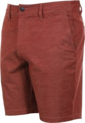 RVCA Back In Hybrid Shorts - bordeaux heather