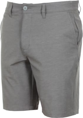 RVCA Back In Hybrid Shorts - grey noise heather - view large