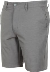 RVCA Back In Hybrid Shorts - grey noise heather