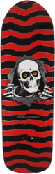 Powell Peralta Old School Ripper 10.0 Skateboard Deck - red/black
