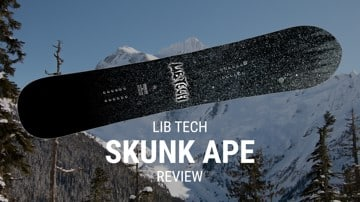 Lib Tech Skunk Ape 2019 Snowboard Rider Review