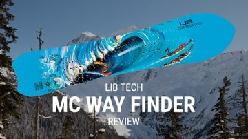 Lib Tech MC Wayfinder 2019 Snowboard Rider Review