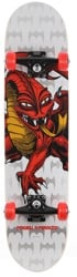 Powell Peralta Cab Dragon One-Off 7.75 Complete Skateboard - grey/red