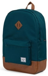 Herschel Supply Heritage Backpack - deep teal/tan