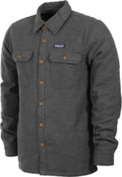 Patagonia Insulated Fjord Flannel Jacket - forge grey
